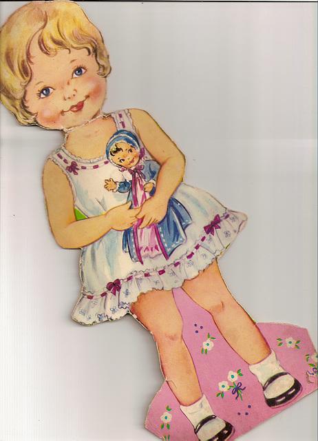 """Magnet Dolly"" - Jennifer - Early 1960s, English"