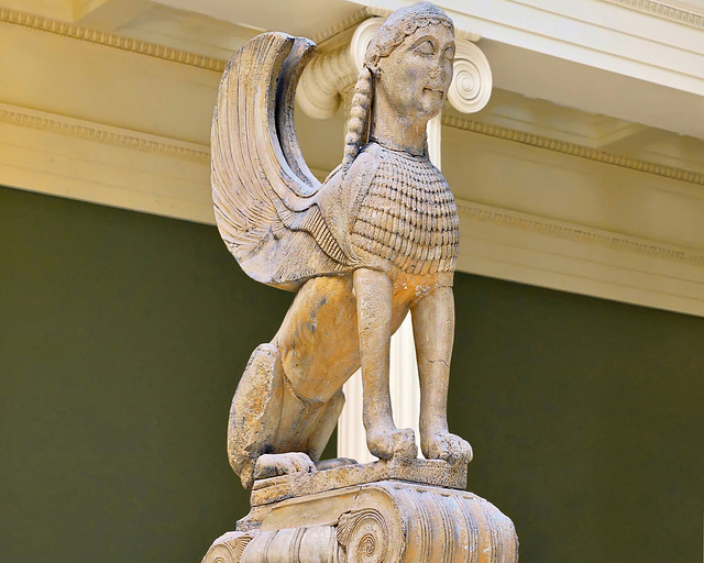 The Naxian Sphynx – Carnegie Museum, Forbes Avenue, Pittsburgh, Pennsylvania