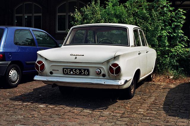 1963 Ford Cortina de Luxe Consul