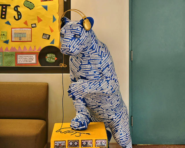 WPTS Panther – William Pitt Union, University of Pittsburgh, Pittsburgh, Pennsylvania