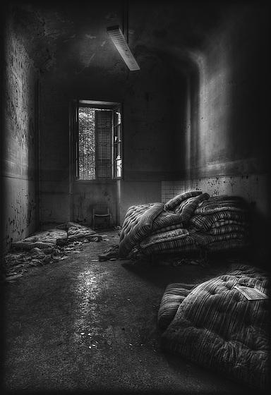 Abandoned  - ex madhouse - Mombello