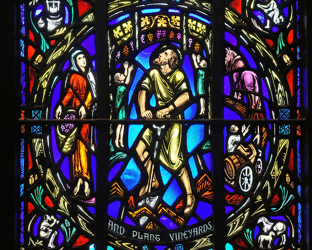 And Planting Vineyards – Heinz Memorial Chapel, University of Pittsburgh, Pittsburgh, Pennsylvania