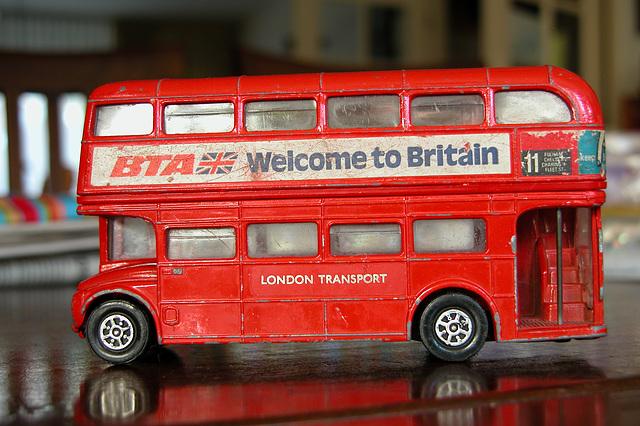 Old toys: 1978 Routemaster by Corgi