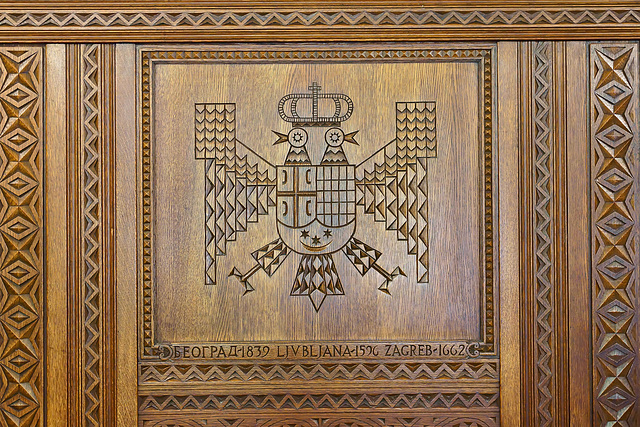 The Pity of it All – The Yugoslav Room, Cathedral of Learning, University of Pittsburgh, Forbes Avenue, Pittsburgh, Pennsylvania