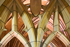 Tracery – Cathedral of Learning, University of Pittsburgh, Forbes Avenue, Pittsburgh, Pennsylvania