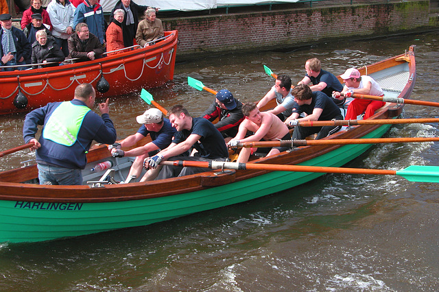 Pushing the oarsmen to the limit