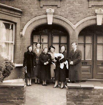 Christening Day, Leyton 1954