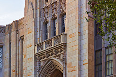 The Portals of Learning – Cathedral of Learning, University of Pittsburgh, Forbes Avenue, Pittsburgh, Pennsylvania