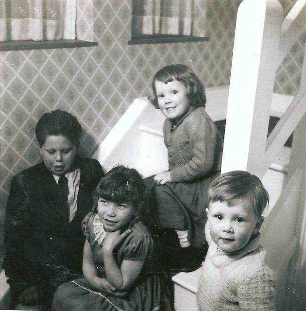 John, Heather, Deborah, Nicholas - 1958