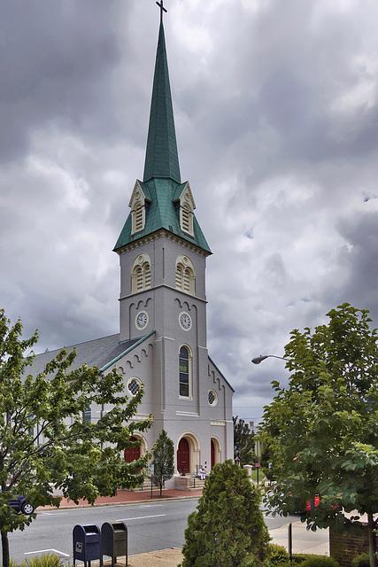 St. George's Episcopal Church – Princess Anne Street, Fredericksburg, Virginia