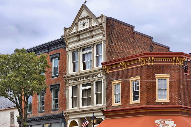 The Star Building – William Street at Princess Anne Street, Fredericksburg, Virginia