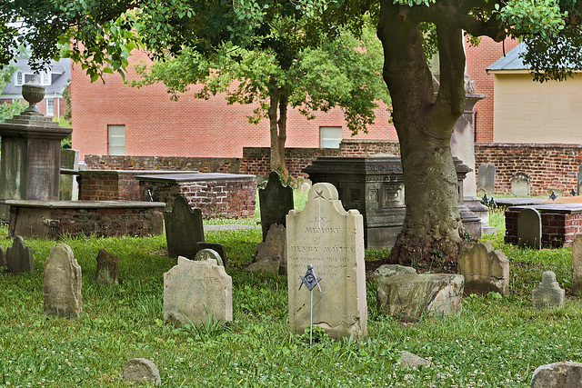 In Memory of Henry White – Old Masonic Cemetery, Fredericksburg, Virginia