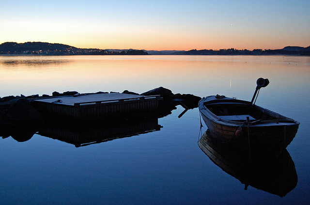 #7 Sunrise on Hafrsfjord