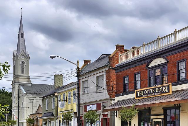 Princess Anne Street – Near William Street, Fredericksburg, Virginia