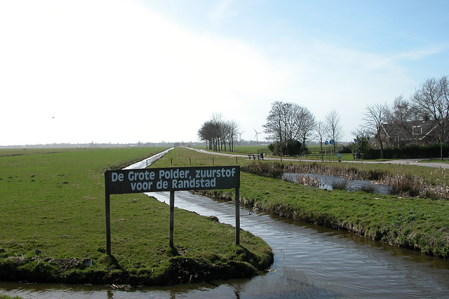 Great Polder, oxygen for the Randstad