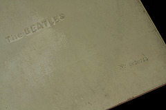 Numbered copy of the Beatles White Album