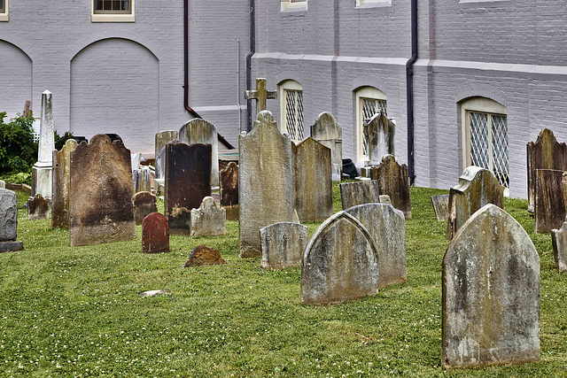 St. George's Churchyard – Princess Anne Street, Fredericksburg, Virginia