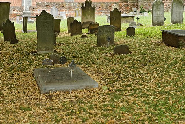In Memoriam Col. Gustavus Brown Wallace – Old Masonic Cemetery, Fredericksburg, Virginia