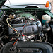 At a Mercedes W123-meeting: shiny motor