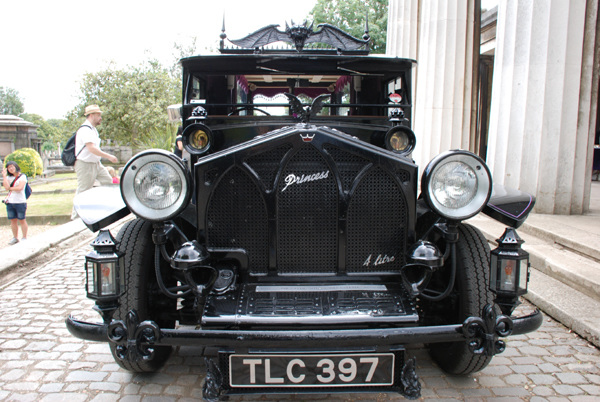 Classic hearse