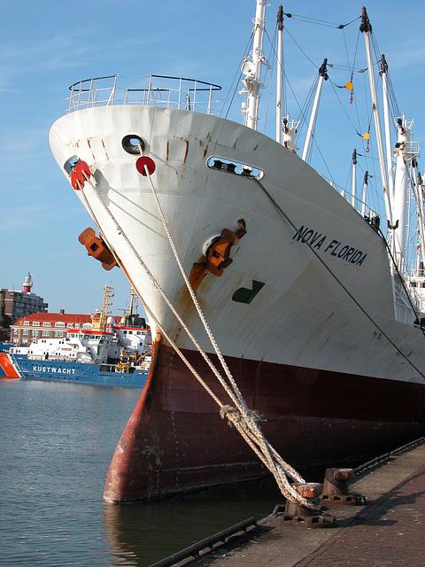The Nova Florida in Scheveningen Harbour
