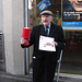 Collecting for the London Pensioner