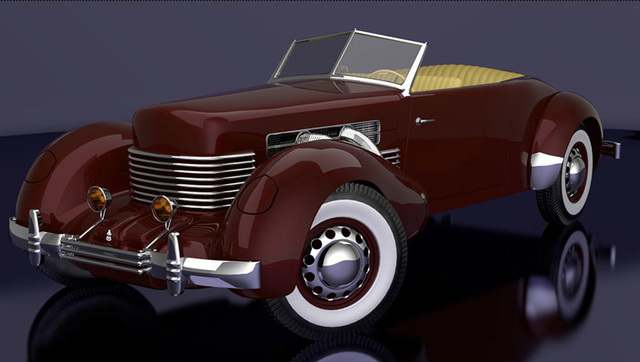 1937 Cord Roadster
