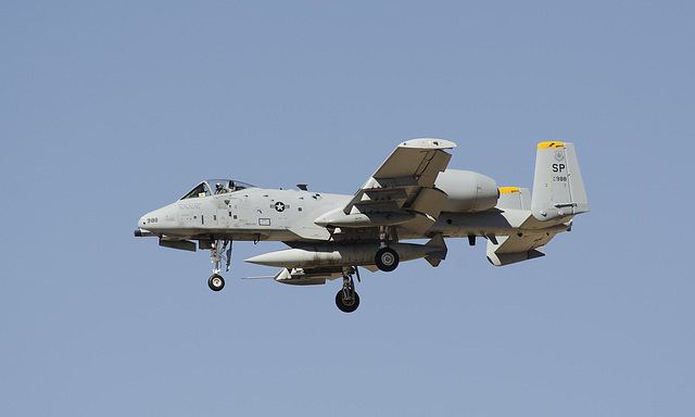 52nd Fighter Wing Fairchild A-10C 81-0988