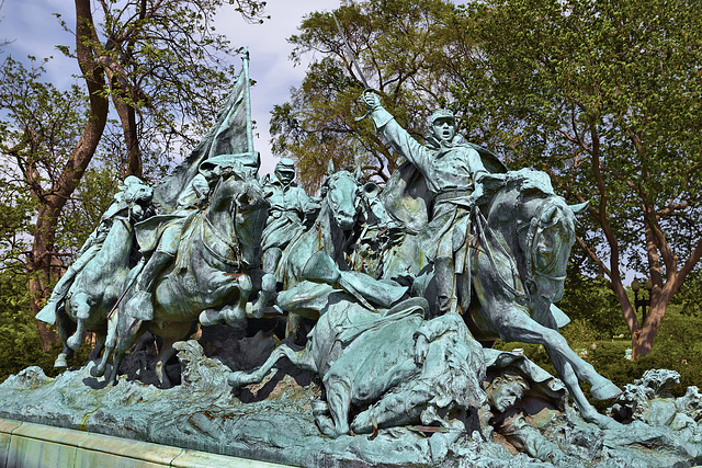 Ulysses Grant Memorial: Cavalry Group – United States Capitol Grounds, Washington, D.C.