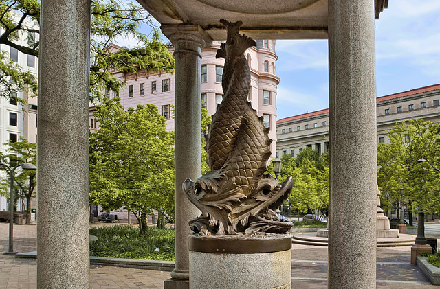 The Temperance Fountain Revisited – Indiana Avenue and 7th Street N.W. – Washington, D.C.