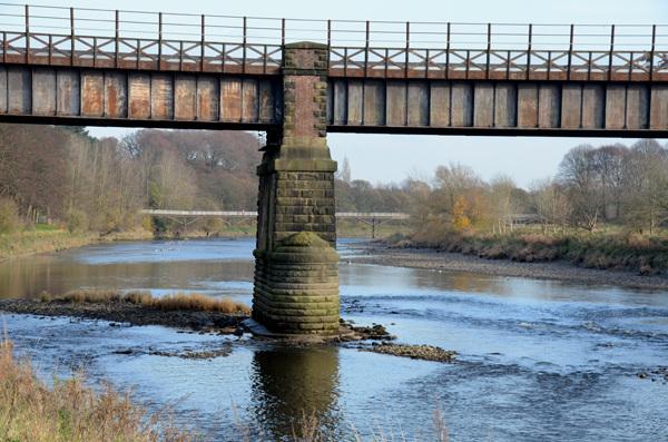 Old tram bridge, Preston