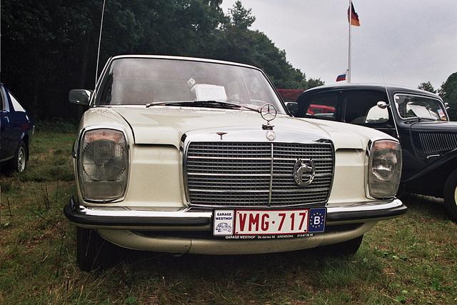 Visiting the Oldtimer Festival in Ravels, Belgium: 1974 Mercedes-Benz 220 D