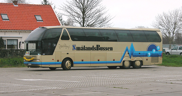 More SmålandsBussen: Previous incarnation of the Neoplan Starliner