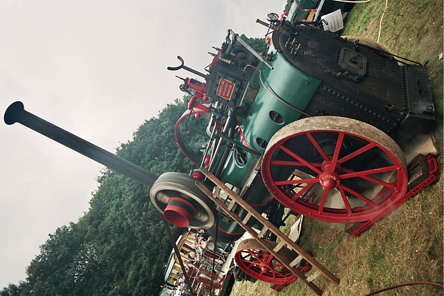 Visiting the Oldtimer Festival in Ravels, Belgium: 1909 Lanz ZLC 1909 Steam locomobile