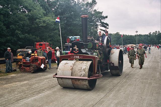 Visiting the Oldtimer Festival in Ravels, Belgium: 1916 Aveling & Porter steam roadroller