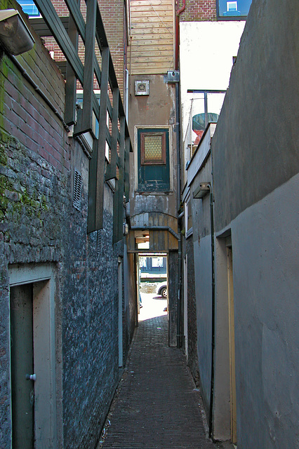 My favourite alley in Leiden
