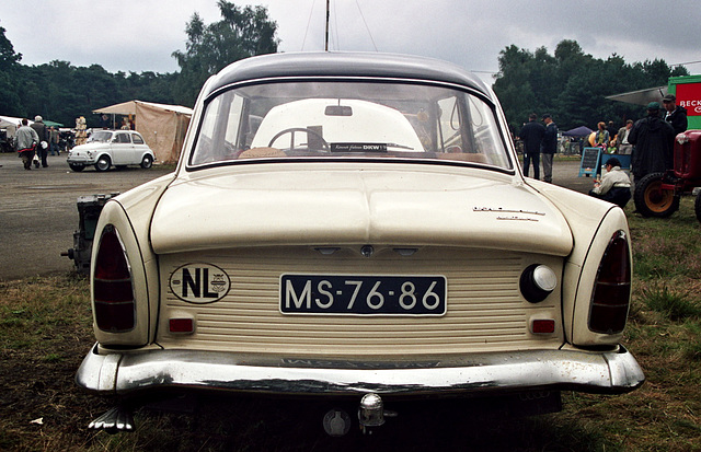 Visiting the Oldtimer Festival in Ravels, Belgium: 1963 D.K.W. Junior de luxe