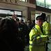 Police outside Birkbeck