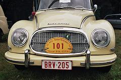 Visiting the Oldtimer Festival in Ravels, Belgium: Auto Union
