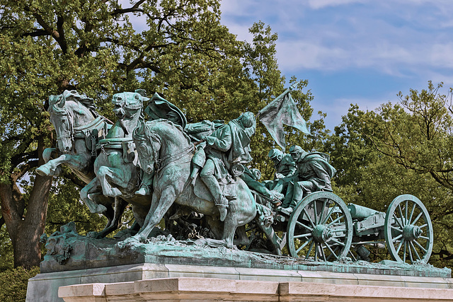 Ulysses S. Grant Memorial: The Artillery Group – United States Capitol Grounds, Washington, D.C.
