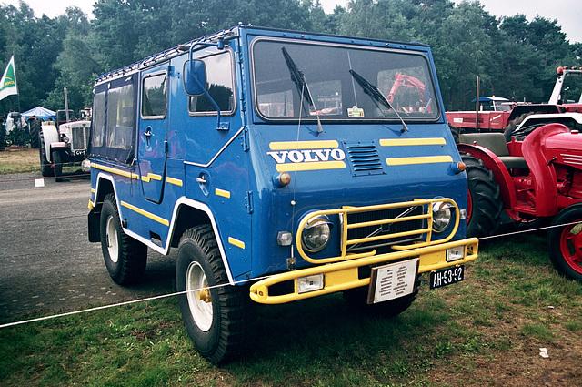 Visiting the Oldtimer Festival in Ravels, Belgium: 1962 Volvo L3314 Cabriolet