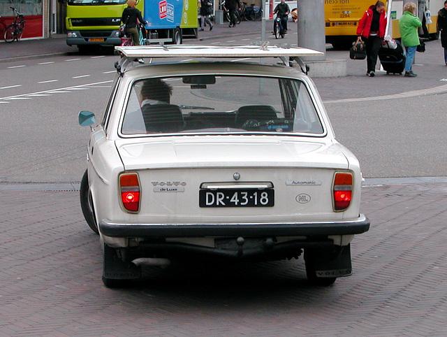 Volvo day: 1972 Volvo 144 de Luxe Automatic