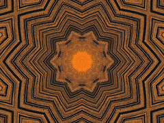 sand kaleidoscope