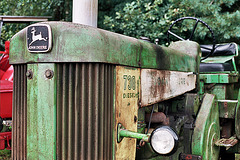 Visiting the Oldtimer Festival in Ravels, Belgium: John Deere 730 diesel tractor