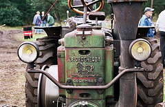 Visiting the Oldtimer Festival in Ravels, Belgium: Le Percheron tractor
