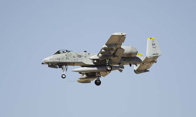 52nd Fighter Wing Fairchild A-10C 82-0656