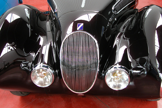 Visiting the Louwman Collection (National Motor Car Museum) - Talbot Lago