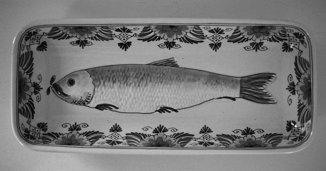 Delft blue herring