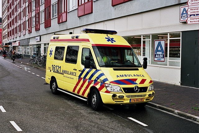 Car spotting: Mercedes-Benz 316 CDI Ambulance