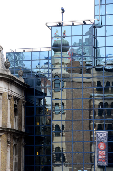 Reflection, Lower Thames St